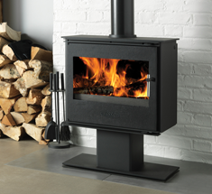 Conrwall stove showroom