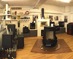 stove showroom Cornwall